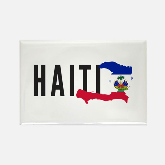 Haiti Rectangle Magnet