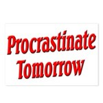 Procrastinate Tomorrow Postcards (Package of 8)