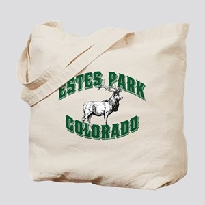 Estes Park Old Style Green Tote Bag