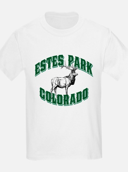 Estes Park Old Style Green T-Shirt