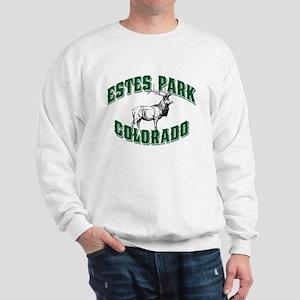Estes Park Old Style Green Sweatshirt