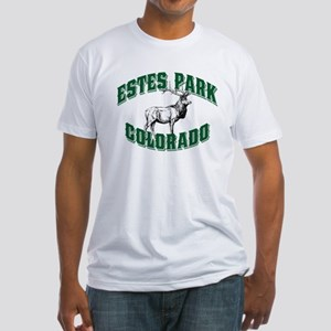 Estes Park Old Style Green Fitted T-Shirt