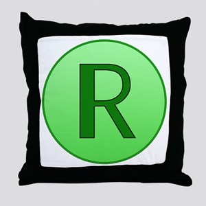 The Shrinking Ray Throw Pillow