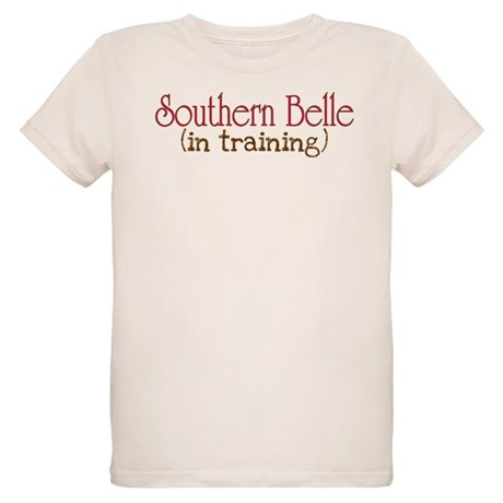 Southern Belle in Training Organic Kids T-Shirt