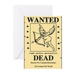 Wanted Cupid Greeting Cards (Pk of 10)