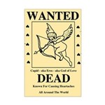 Wanted Cupid Mini Poster Print