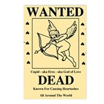 Wanted Cupid Postcards (Package of 8)