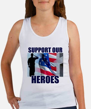 Support Our Heros Women's Tank Top