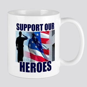 Support Our Heros Mug