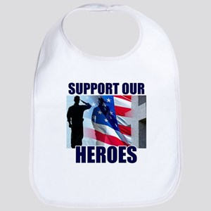 Support Our Heros Bib