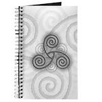 Celtic Triple Spiral Journal