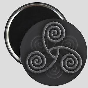 Celtic Triple Spiral Magnet