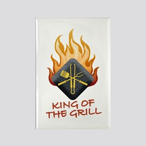 Grill Master Rectangle Magnet
