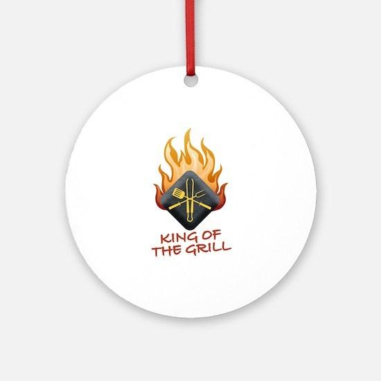 Grill Master Ornament (Round)