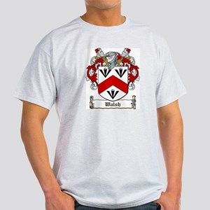 Walsh Family Crest Ash Grey T-Shirt