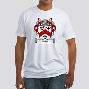 Walsh Family Crest Fitted T-Shirt