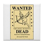 Wanted Cupid Tile Coaster