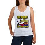 Deport them to San Francisco Women's Tank Top