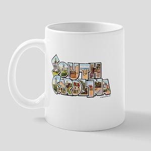 Vintage South Carolina Mug