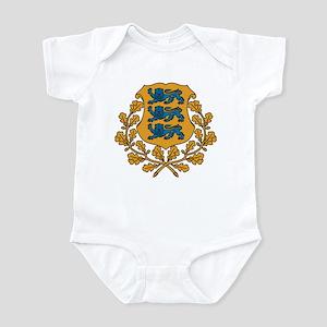Estonia-Eesti Vabariik Infant Bodysuit
