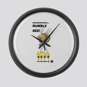 Rumble Bee Large Wall Clock
