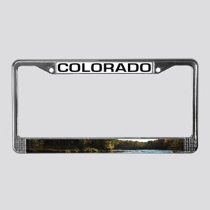 CO License Plate Frame