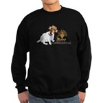 Jack Russell Terrier and The Turkey on Sweatshirt