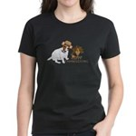 Jack Russell Terrier and The Turkey on Women's Dar