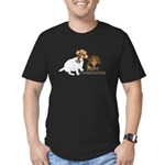 Jack Russell Terrier and The Turkey on Men's Fitte
