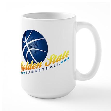 Golden State Basketball Large Mug