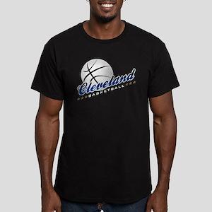 Cleveland Basketball Men's Fitted T-Shirt (dark)