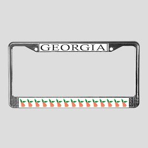 GA License Plate Frame