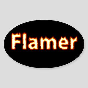 Flamer Sticker (Oval 10 pk)