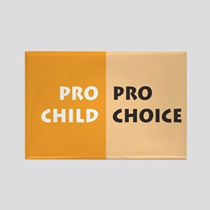 Pro Choice Rectangle Magnet