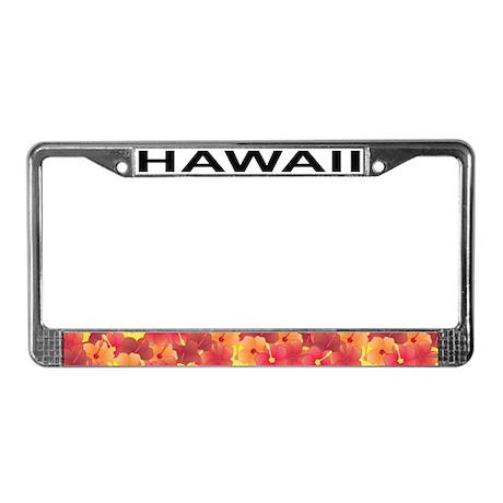 HI License Plate Frame