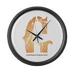 Groundspeed Large Wall Clock