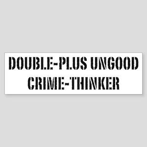 Crimethink Sticker (Bumper)