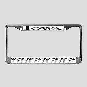 IA License Plate Frame