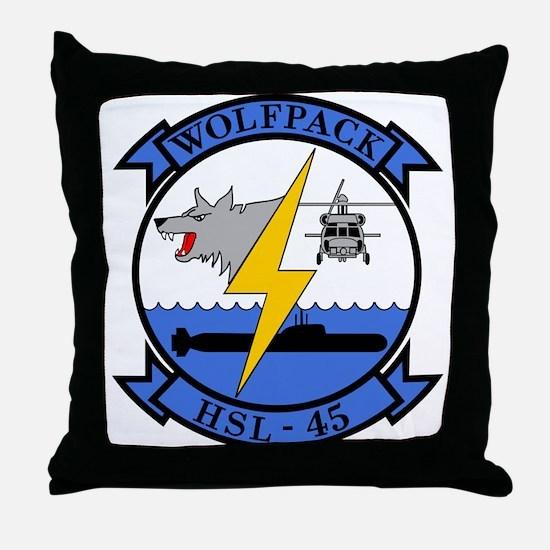HSL-45 Wolfpack Throw Pillow