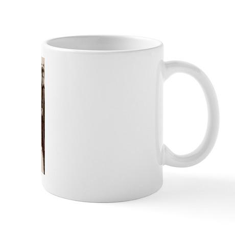 Fur hat Mug