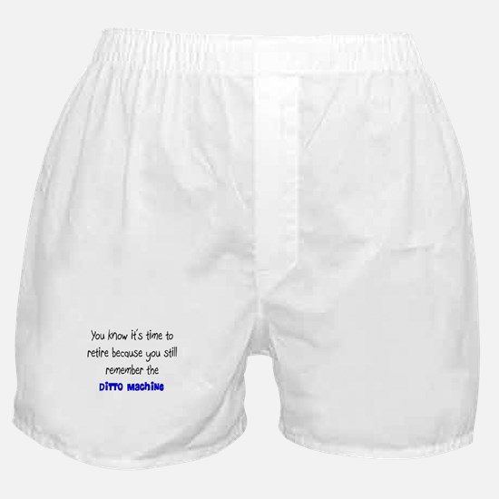 Retired Teacher II Boxer Shorts