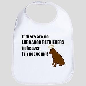 Labrador Retrievers In Heaven Bib