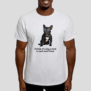 Best Friend French Bulldog Light T-Shirt