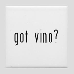 got vino? Tile Coaster