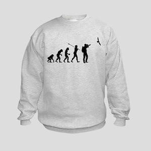 Bird Watcher Kids Sweatshirt