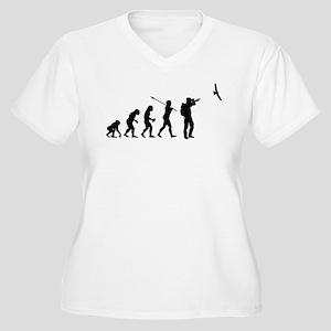 Bird Watcher Women's Plus Size V-Neck T-Shirt