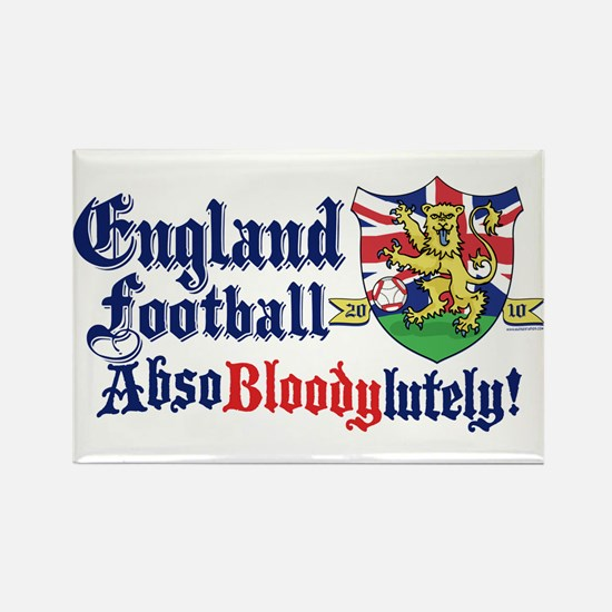 England Football Lion Rectangle Magnet