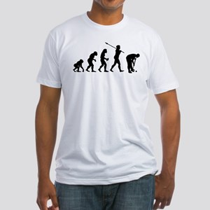 Croquet Player Fitted T-Shirt