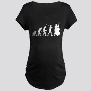 Double Bassist Player Maternity Dark T-Shirt