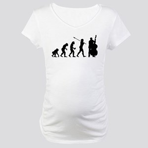 Double Bassist Player Maternity T-Shirt